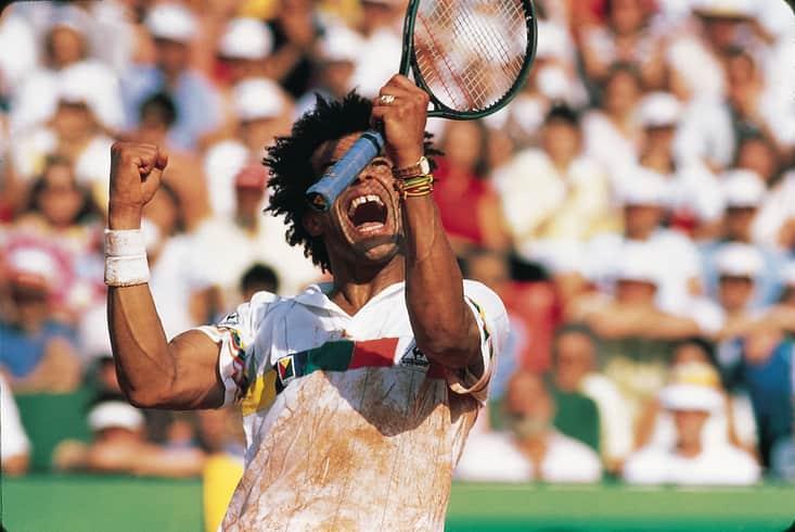 Yannick Noah Rolland Garros