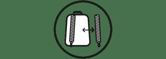 Removable Shoulder Straps