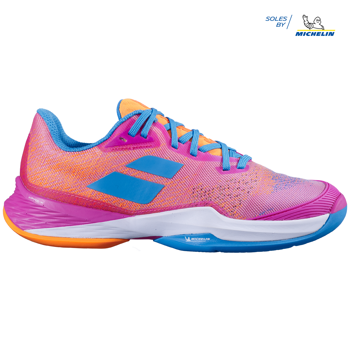 Details about  /Babolat Womens Jet Mach All Court Tennis Shoes Lightweight Trainers Sneakers